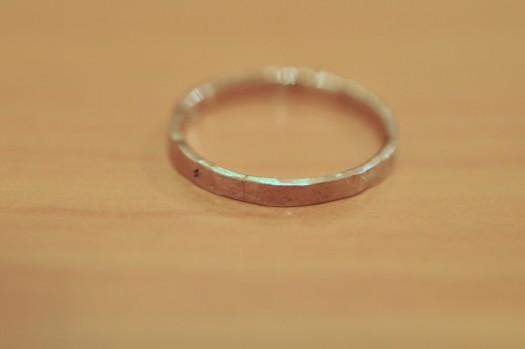 修理できた指輪